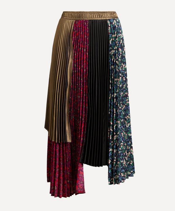 CLU - Mix Media Panelled Skirt