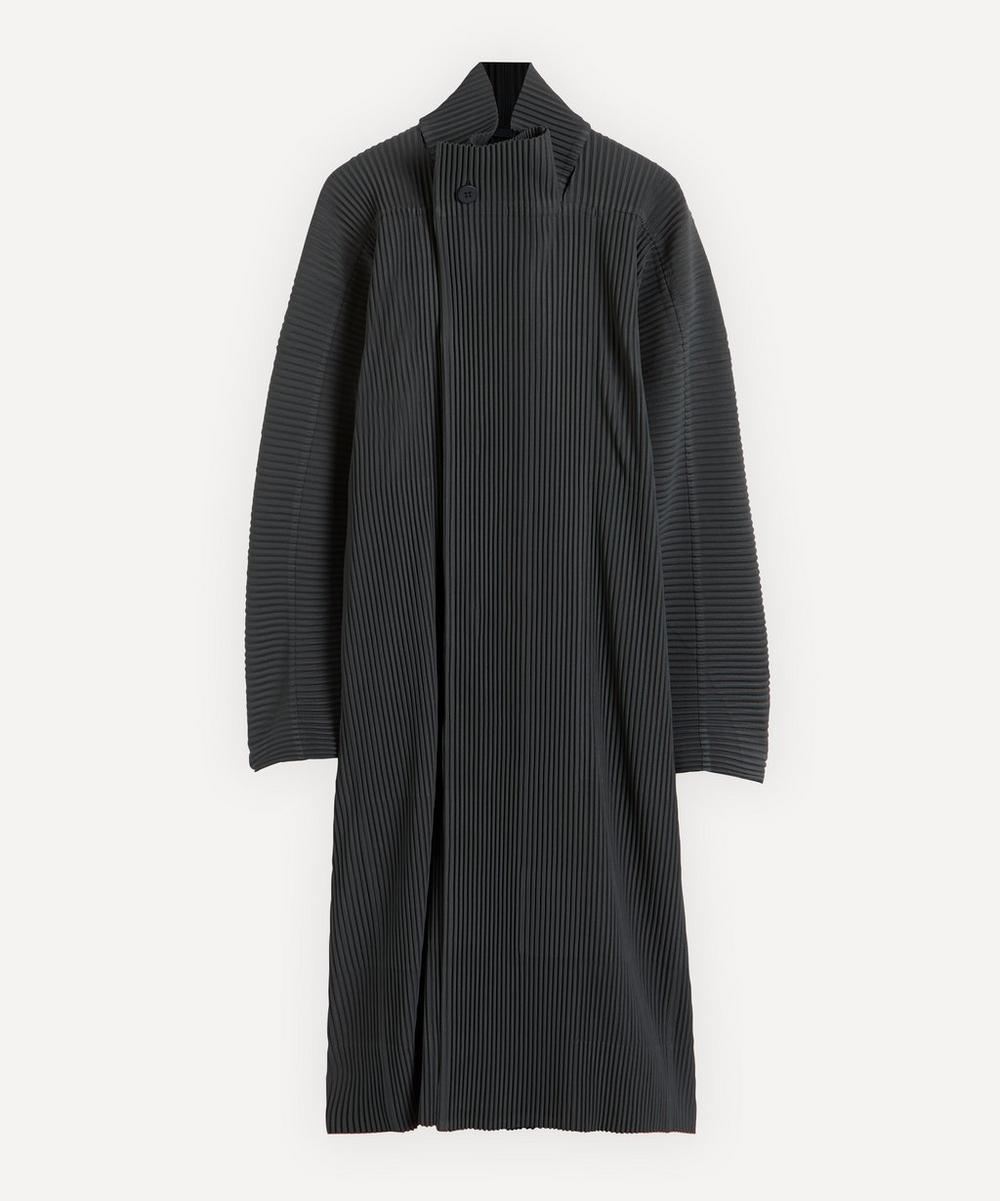 HOMME PLISSÉ ISSEY MIYAKE - Long Pleated Kimono Jacket