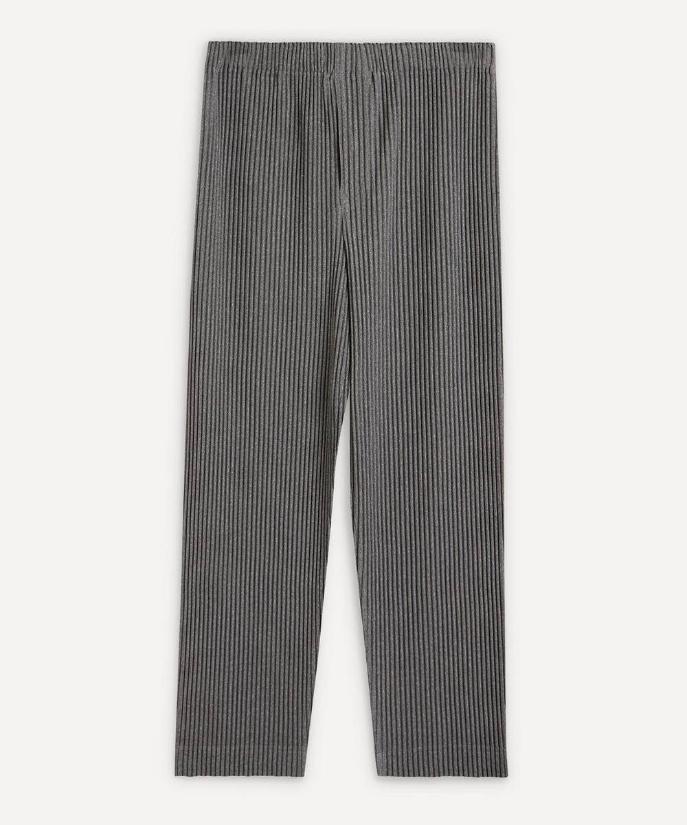 HOMME PLISSÉ ISSEY MIYAKE - Heather Pleated Tapered Trousers