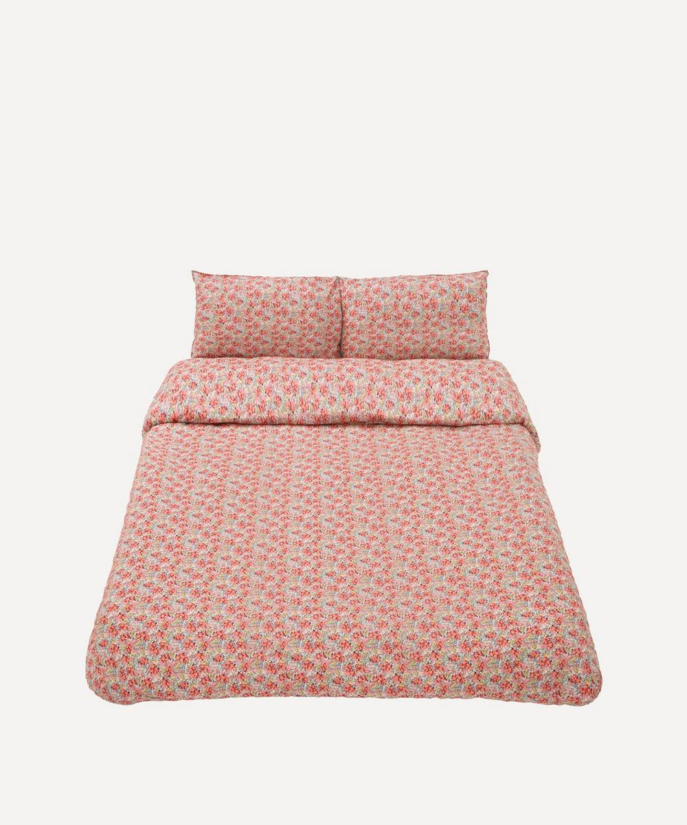 Coco & Wolf - Swirling Petals Cotton Super King Duvet Cover Set