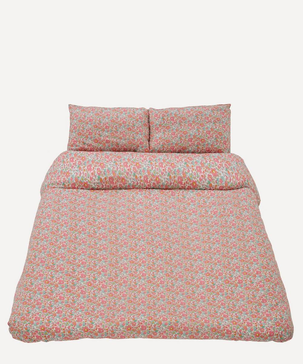 Coco & Wolf - Betsy Rose Cotton Super King Duvet Cover Set