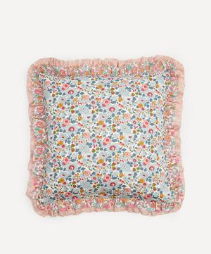 Betsy Grey, Betsy Rose and Capel Double Ruffle Squared Cushion