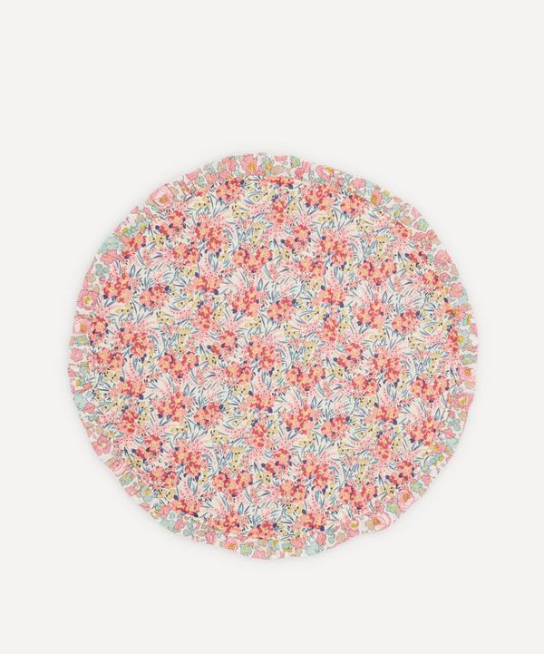Coco & Wolf - Swirling Petals, Wiltshire Bud and Betsy Rose Frill Circle Placemat