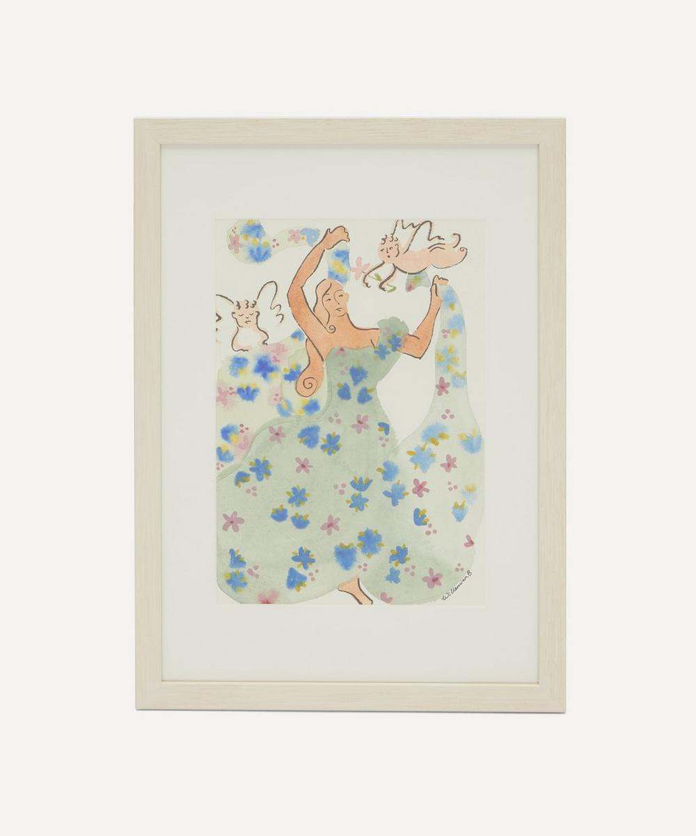 Willemien Bardawil - Dancing with the Angels 2 Original Framed Painting