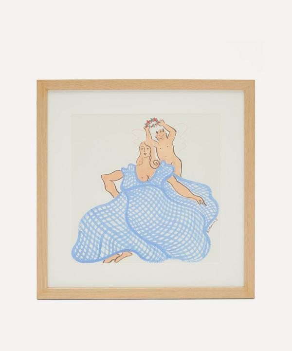 Willemien Bardawil - Morning Angels 1 Original Framed Painting