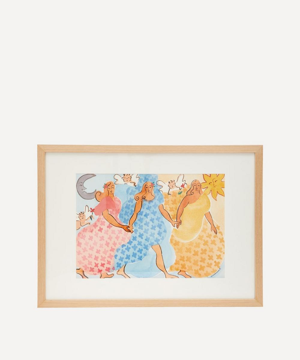 Willemien Bardawil - Find Your Light Original Framed Painting