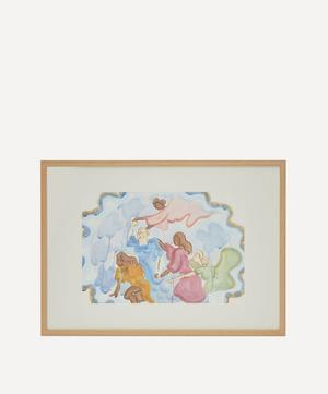 Your Angels Guide You Original Framed Painting