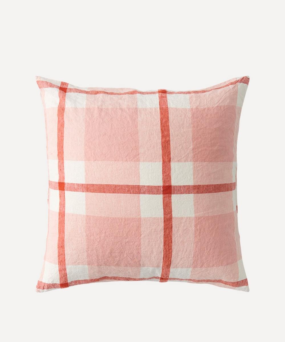 Society of Wanderers - Floss Check Cushion