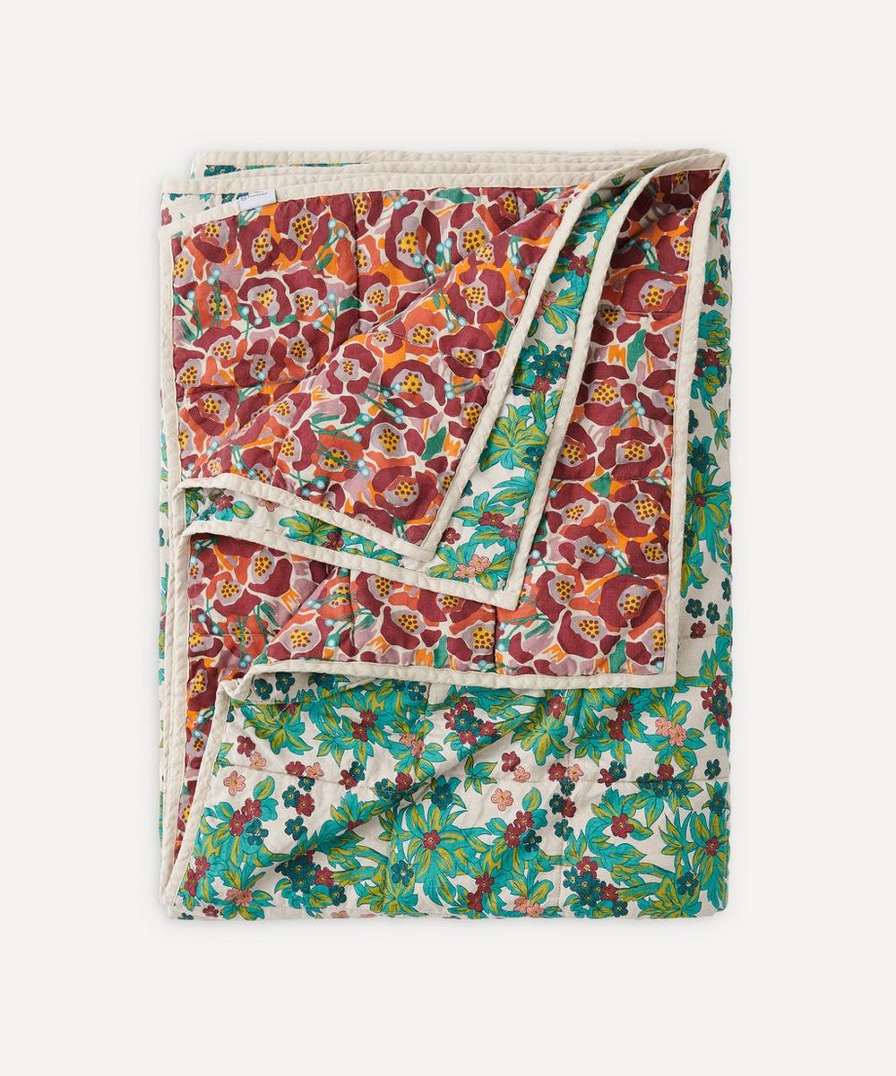 Society of Wanderers - Betty Midge Floral Double-Sided Standard Quilt