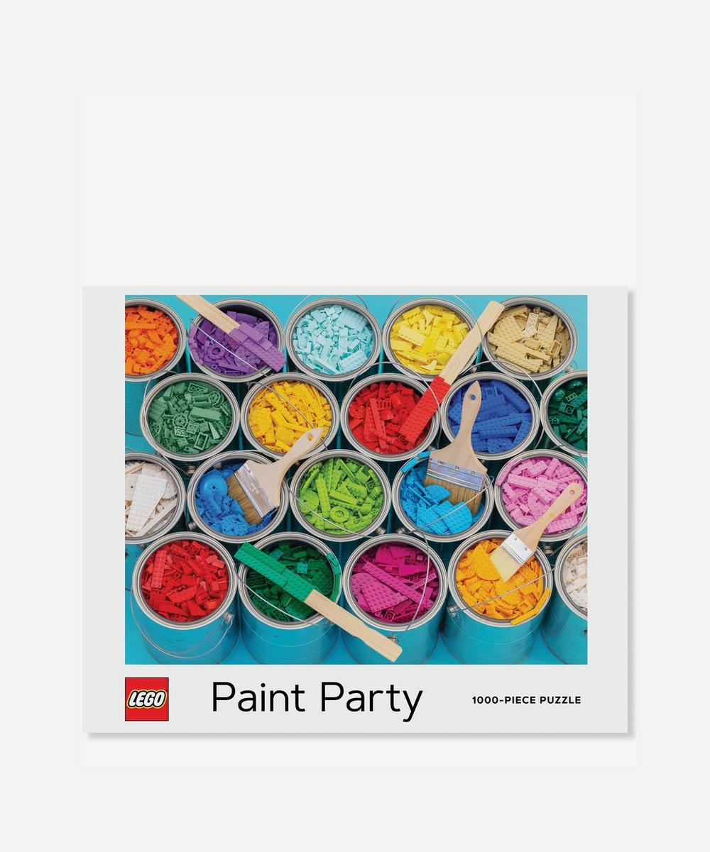 Abrams and Chronicle Books - LEGO® Paint Party 1000-Piece Puzzle
