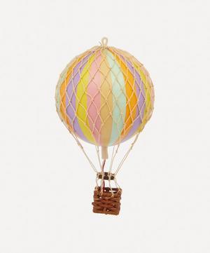 Floating the Skies Pastel Rainbow Balloon Model