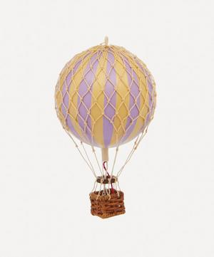 Floating the Skies Lavender Balloon Model