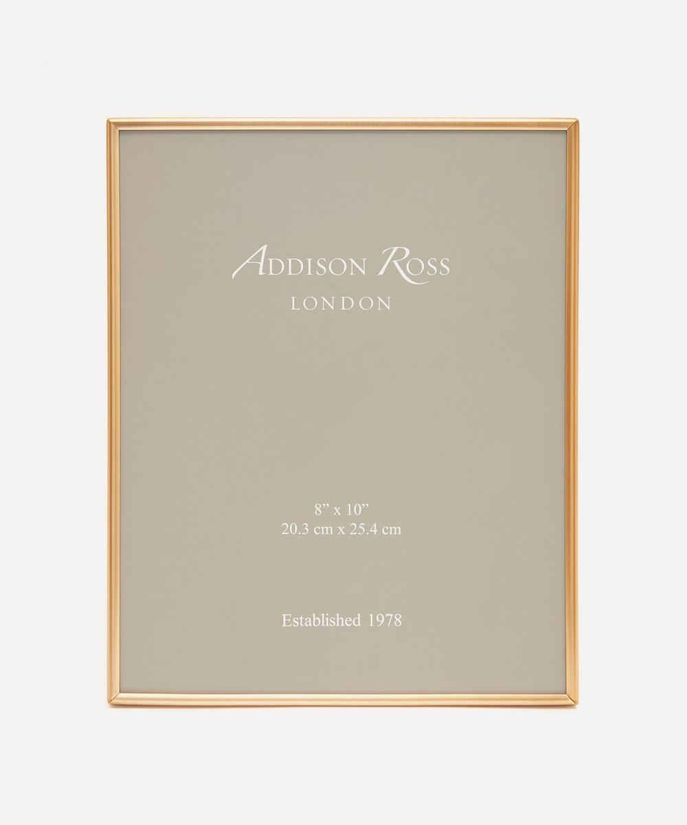 "Addison Ross - Fine Matte Gold 8x10"" Photo Frame"