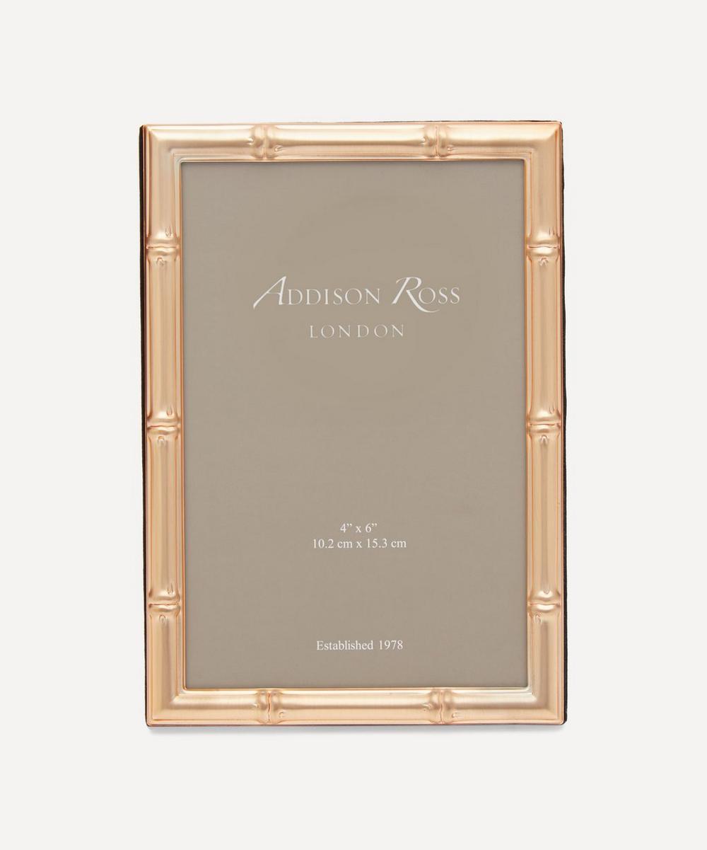 "Addison Ross - Gold Bamboo 4x6"" Photo Frame"