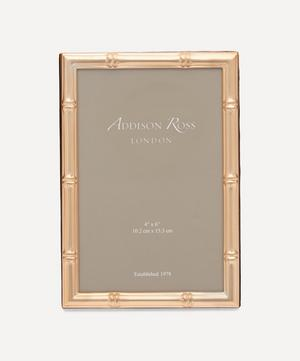 "Gold Bamboo 4x6"" Photo Frame"