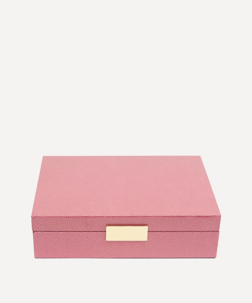 Addison Ross - Pink Shagreen Box