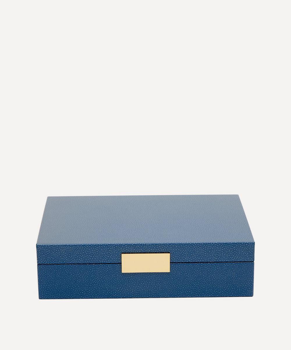 Addison Ross - Blue Shagreen Box