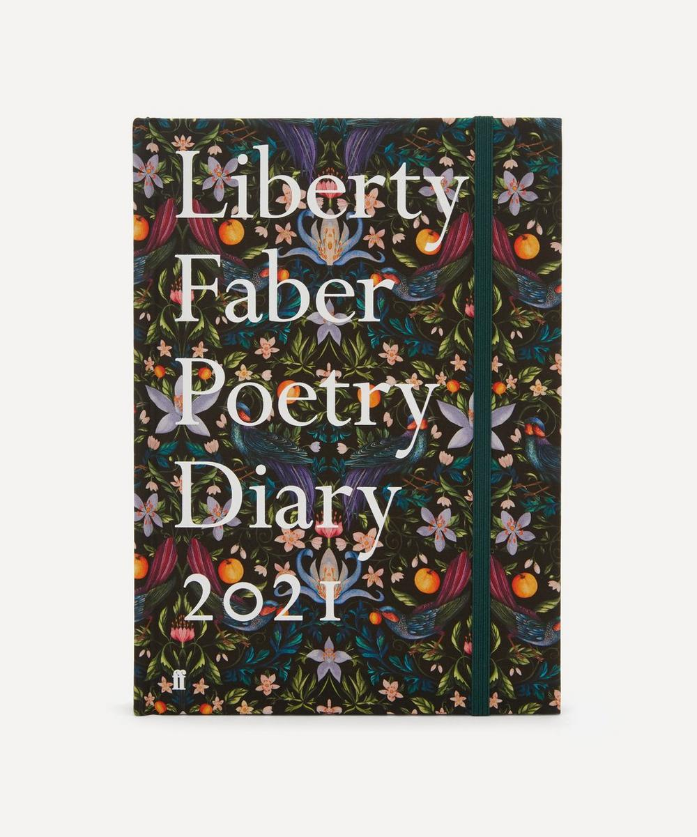 Faber & Faber - Liberty Faber Poetry Diary 2021