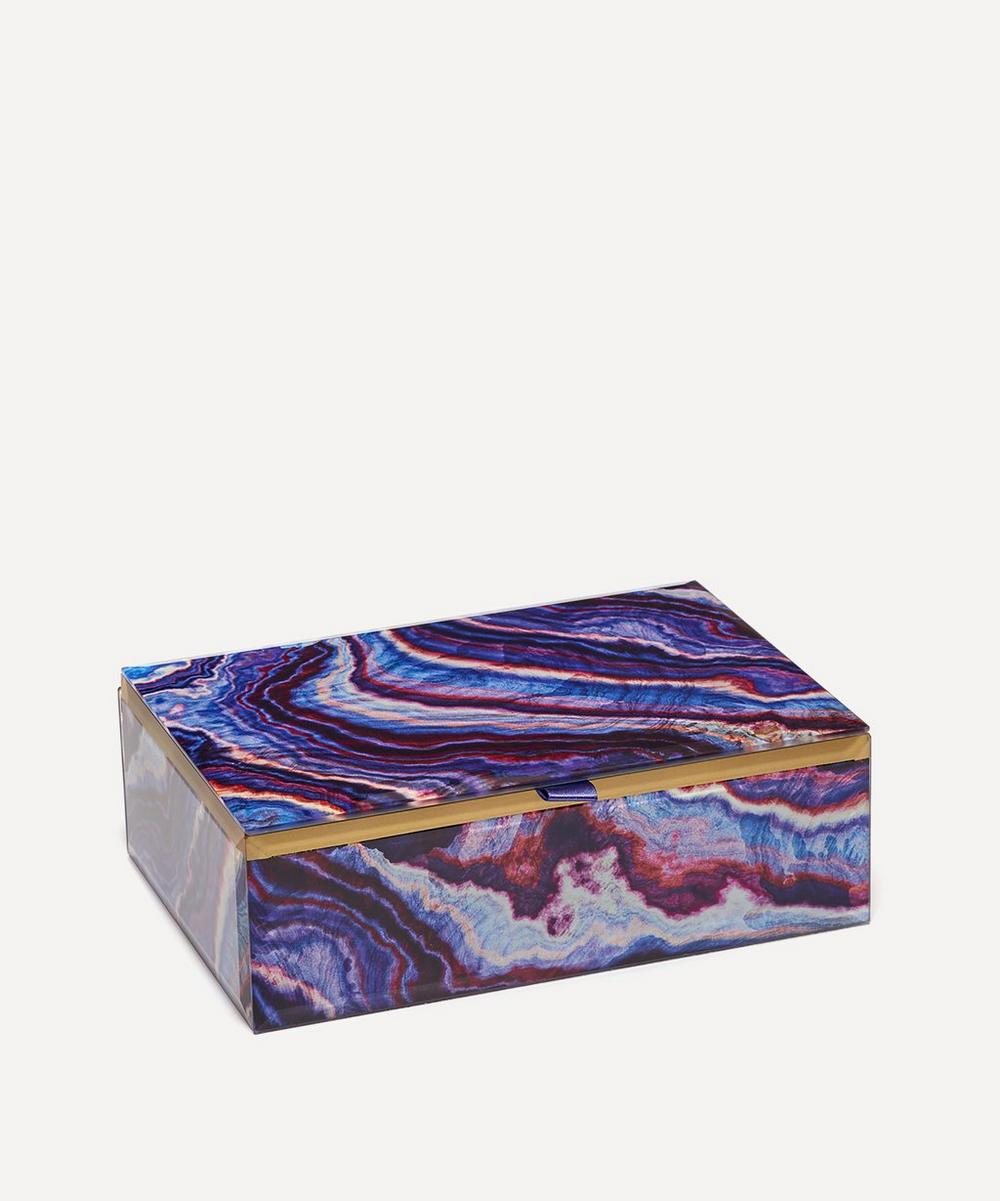 Lola Rose - Agate Rectangular Treasure Box