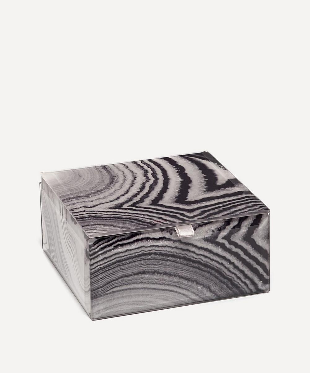 Lola Rose - Agate Small Square Treasure Box