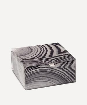 Agate Small Square Treasure Box