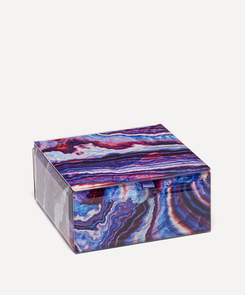 Lola Rose - Agate Small Square Treasure Box