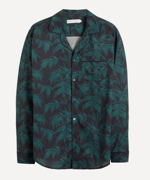 Byron Leaf Cotton Pyjama Shirt