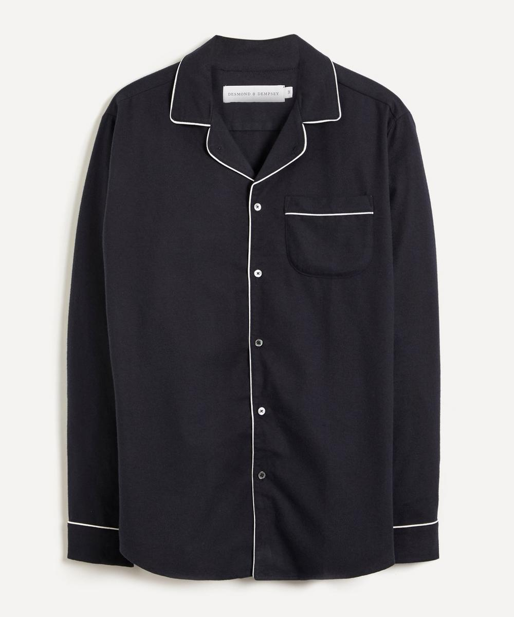 Desmond & Dempsey - Brushed Cotton Pyjama Shirt