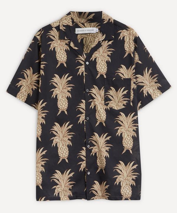 Desmond & Dempsey - Howie Pineapple Cuban Shirt