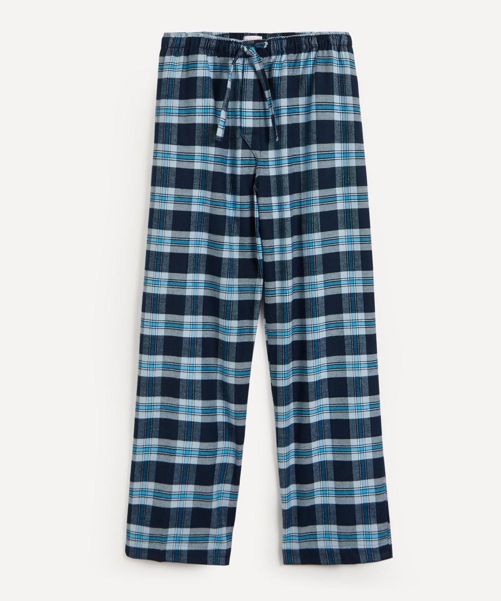 Derek Rose - Kelburn Brushed Large Check Pyjama Bottoms