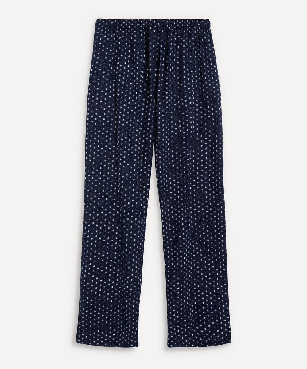Derek Rose - Nelson Cotton Circle Print Pyjama Bottoms