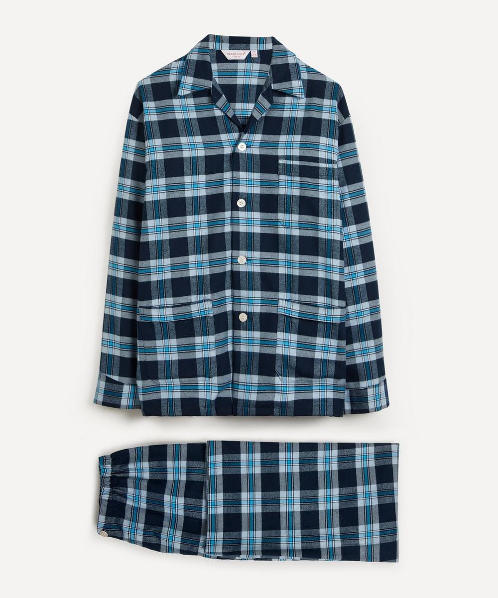 Derek Rose - Kelburn Brushed Large Check Pyjama Set