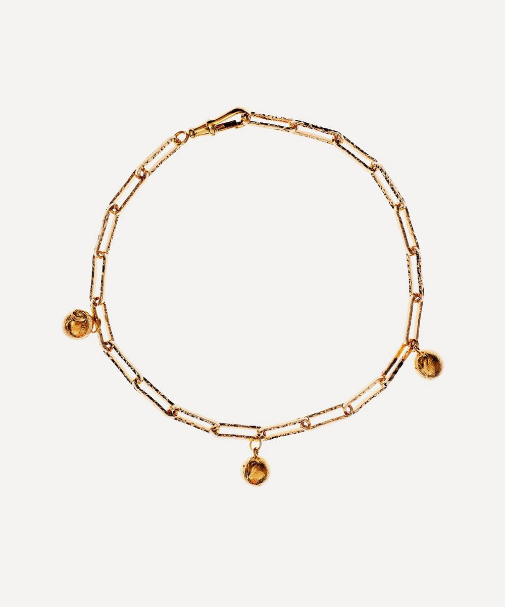 Alighieri - Gold-Plated The Anchor in the Storm Choker Necklace