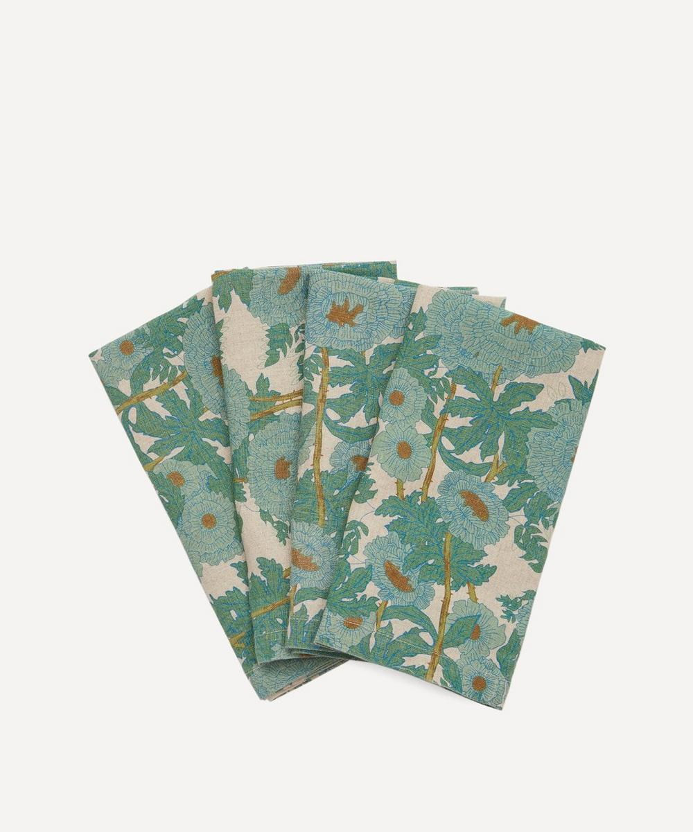 Society of Wanderers - Joan's Floral Napkins Set of Four