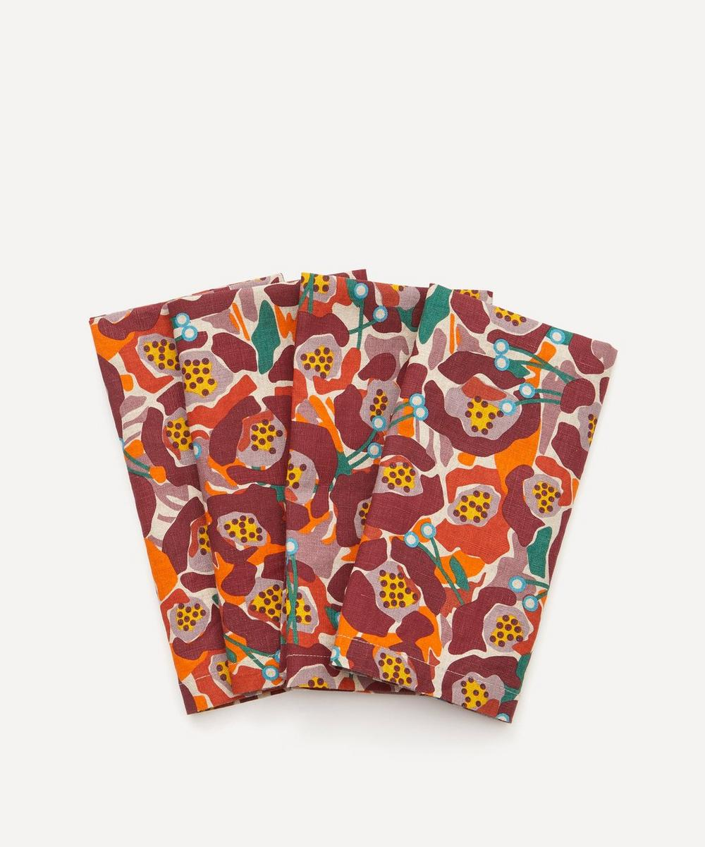 Society of Wanderers - Betty Floral Napkins Set of Four