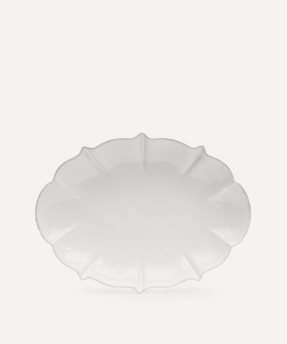 Astier de Villatte - Drapé Oval Platter