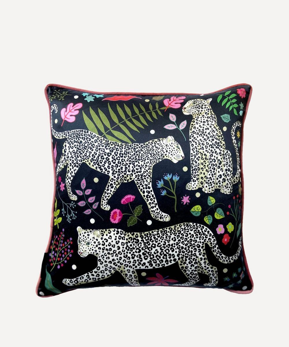 Karen Mabon - Snow Leopard Cushion