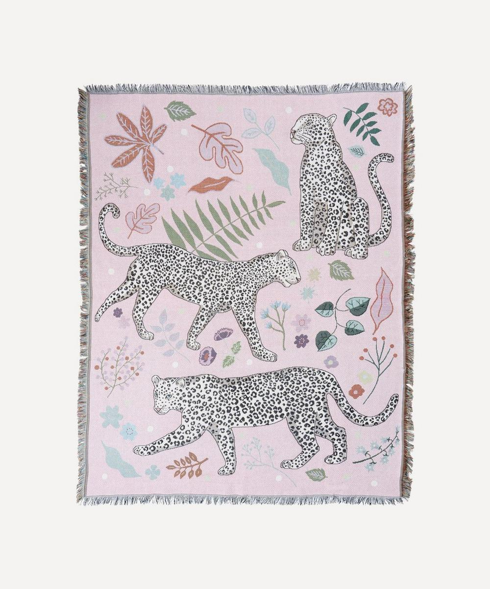 Karen Mabon - Snow Leopard Woven Throw