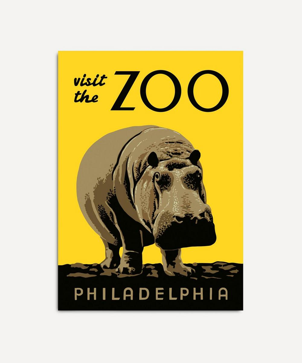 The Dybdahl Co. - Visit The Zoo Philadelphia Framed Print