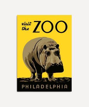 Visit The Zoo Philadelphia Framed Print