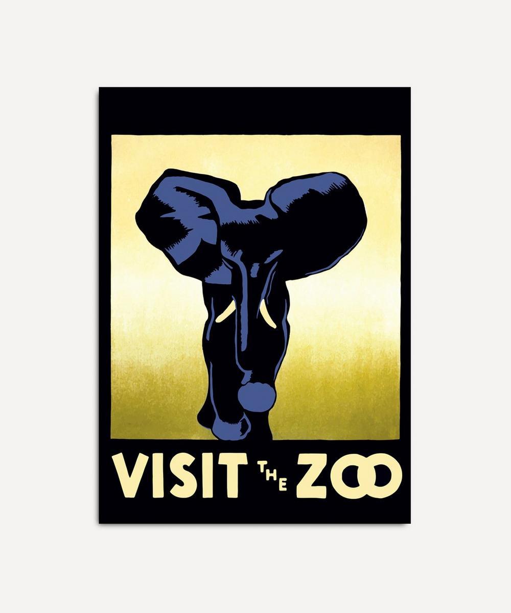 The Dybdahl Co. - Visit The Zoo Elephant Framed Print