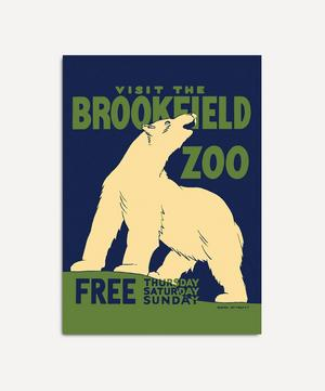 Visit The Brookfield Zoo Framed Print