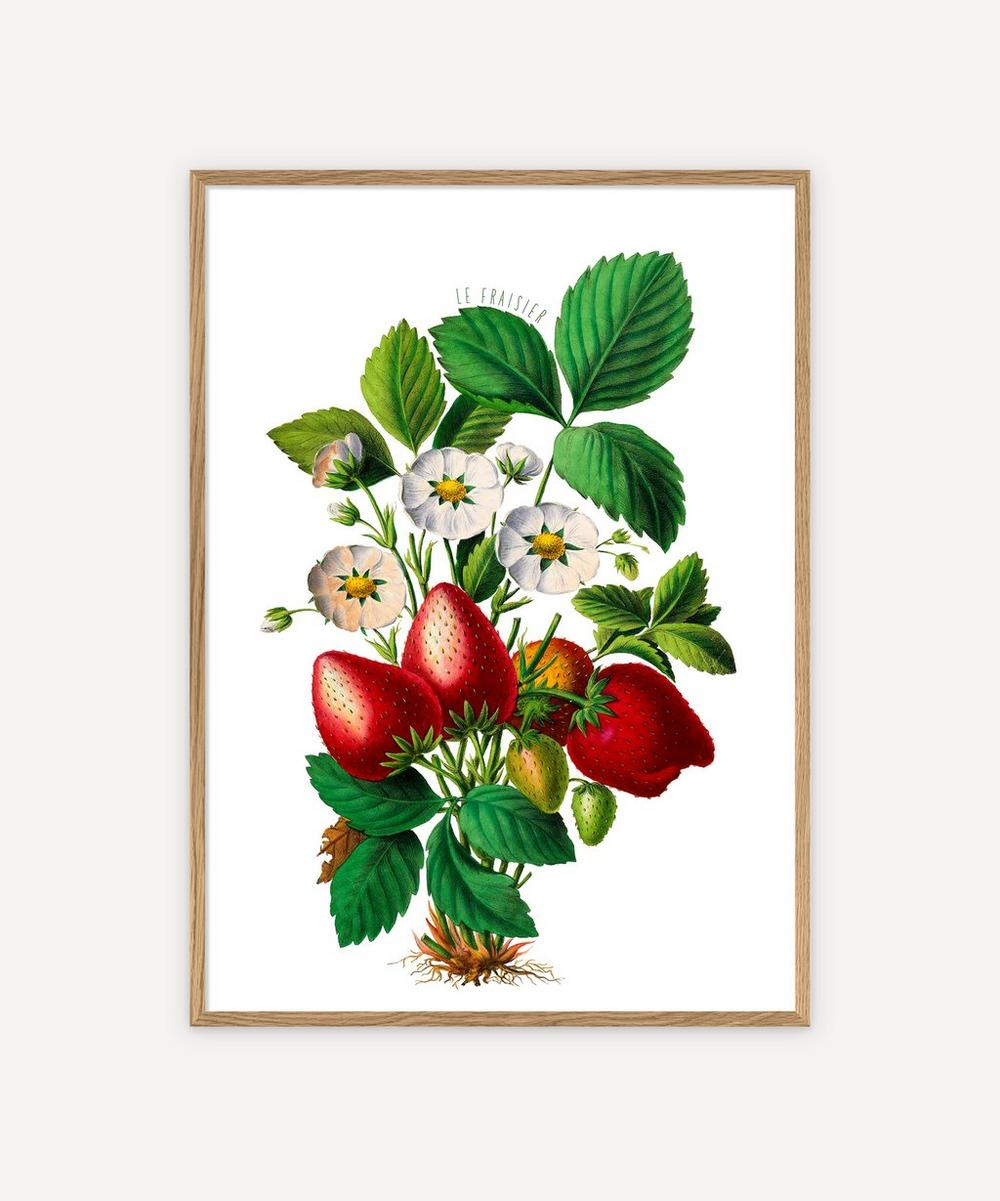 The Dybdahl Co. - Le Fraisier Framed Print