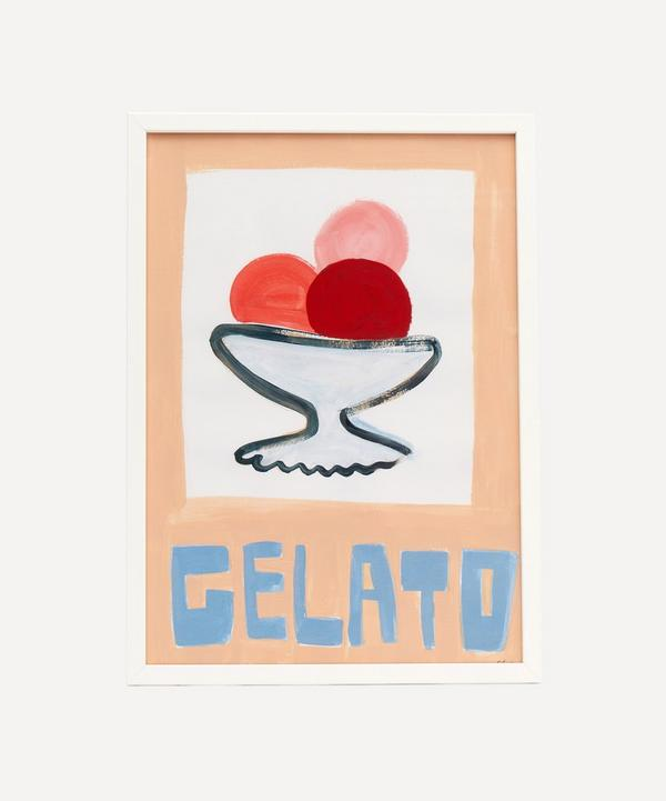 Chiara Perano - A3 Framed Gelato Print