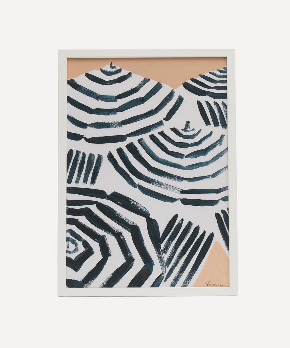 Chiara Perano - A3 Framed Beach Print