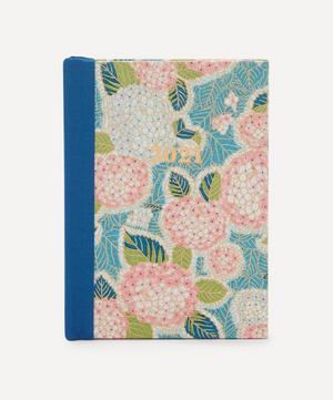 Small Weekly Pink Hydrangeas Diary 2021