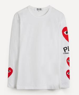 Heart Logo Print Long-Sleeve T-Shirt