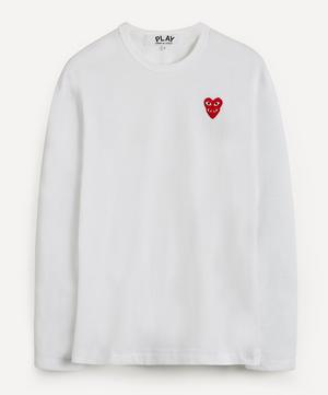 Heart Logo Patch Long-Sleeve T-Shirt