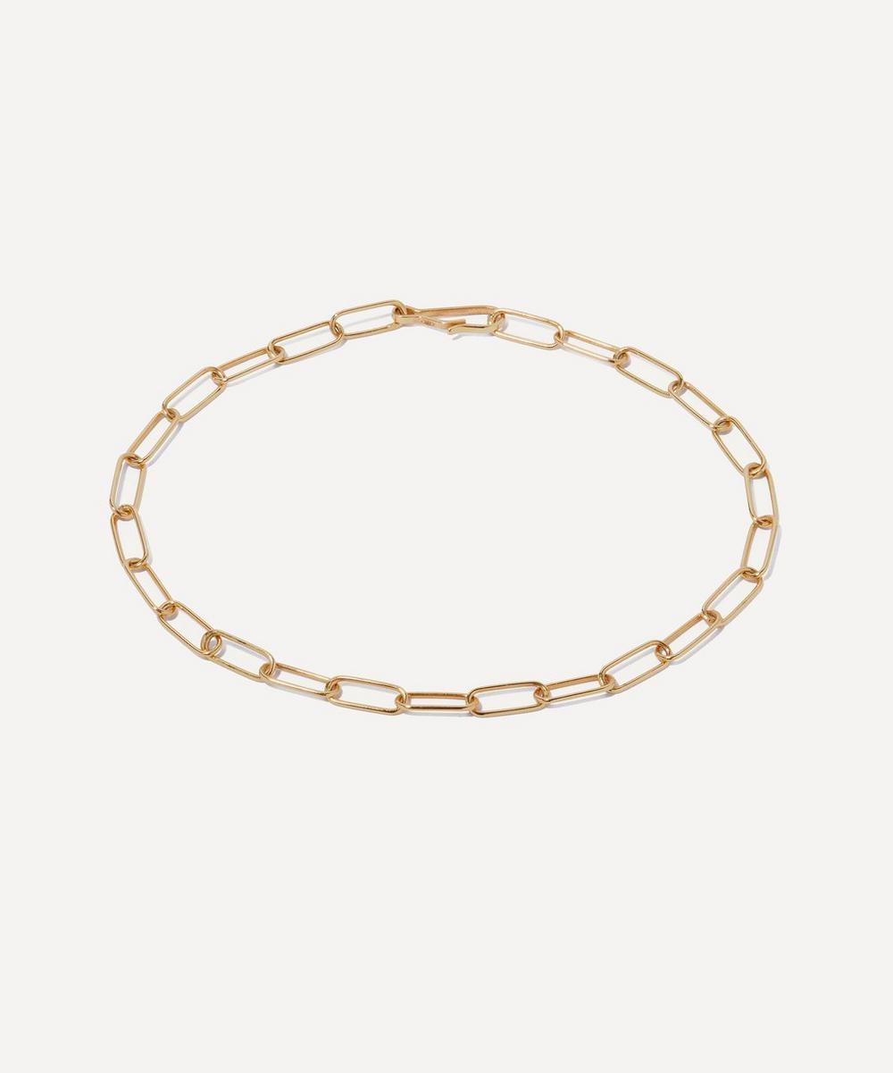 Annoushka - 14ct Gold Mini Cable Chain Bracelet