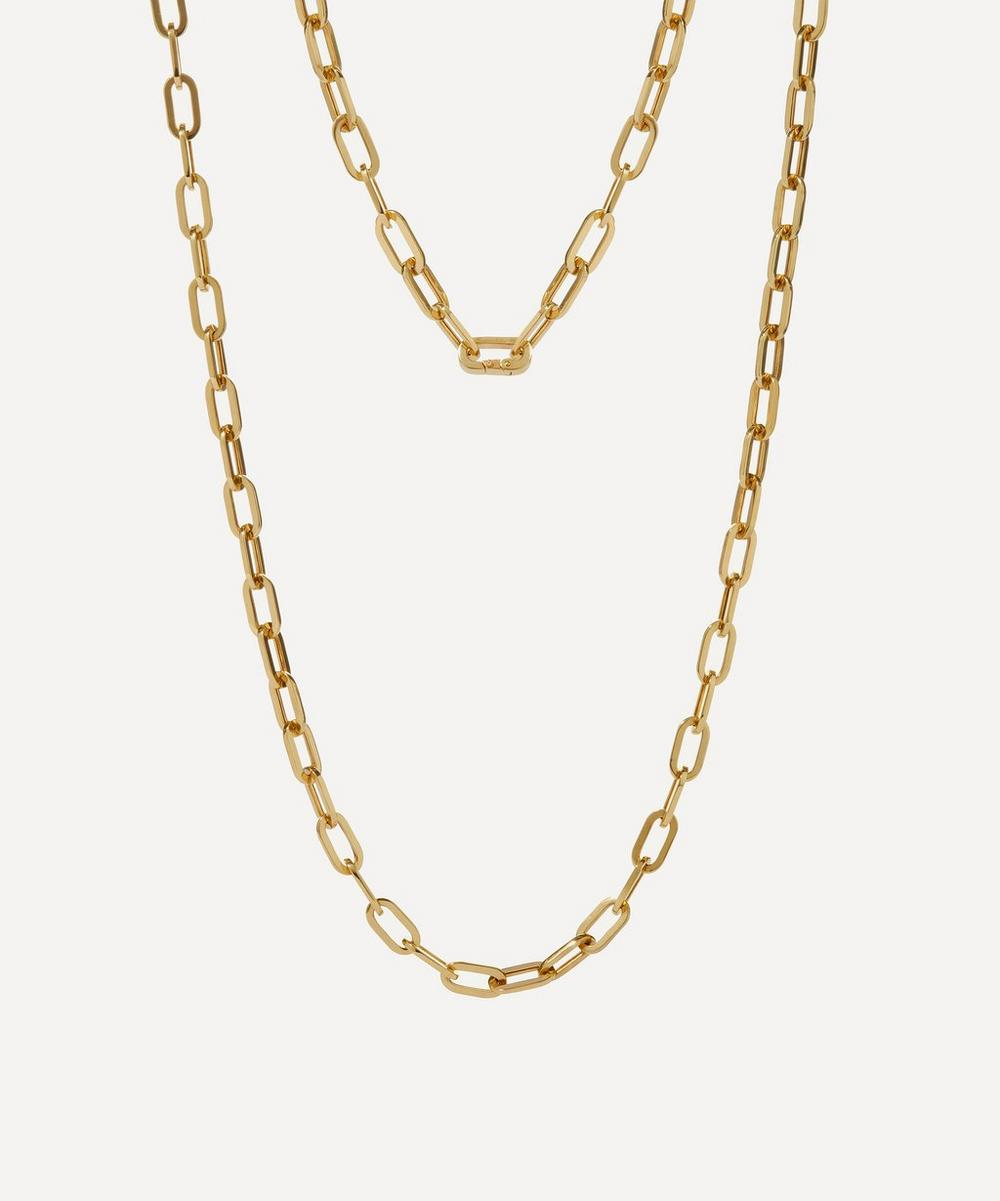 Annoushka - 18ct Gold Cable Chain Necklace